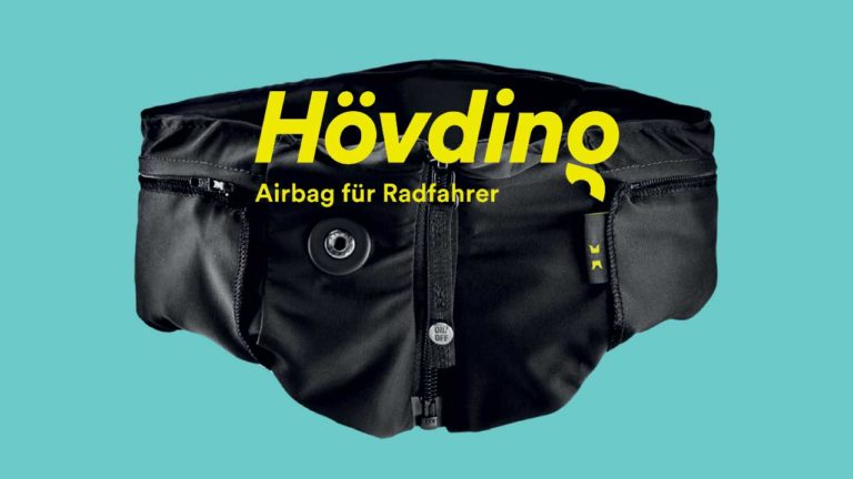 h vding airbag f r fahrradfahrer inkl berzug radwelt shop. Black Bedroom Furniture Sets. Home Design Ideas