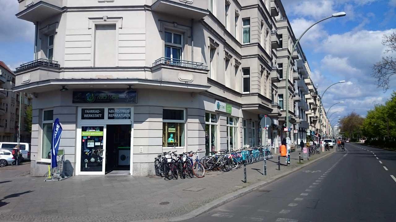 Radwelt Berlin-Friedrichshain - Berliner Fahrradladen