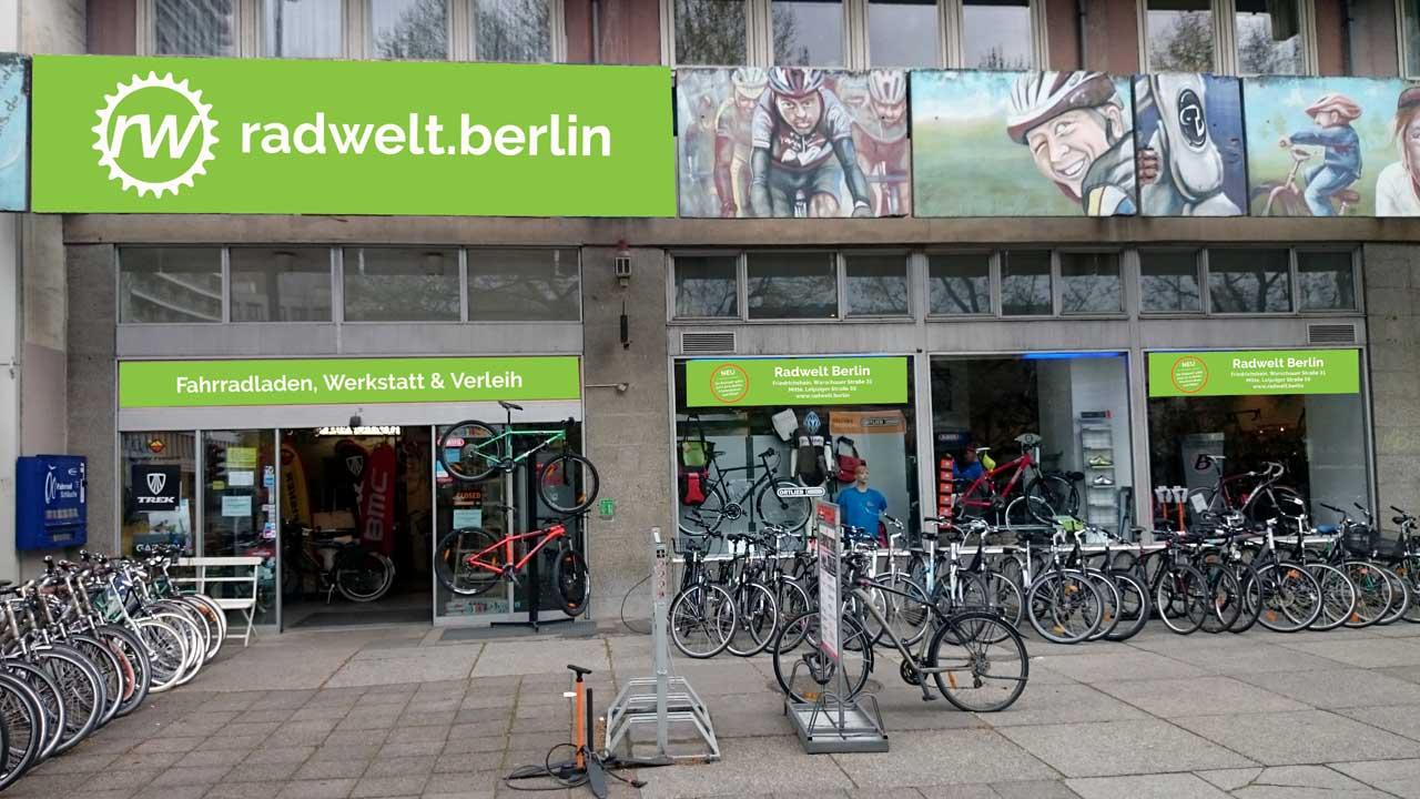 Radwelt Berlin-Mitte - Berliner Fahrradladen