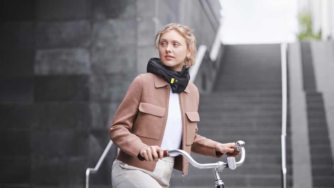 Hövding 3.0 Fahrradairbag - Airbag für Radfahrer - Fahrrad Airbag statt Fahrradhelm tragen