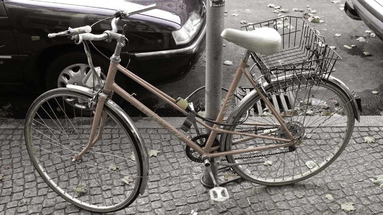 Fahrrad mit Fahrradpass