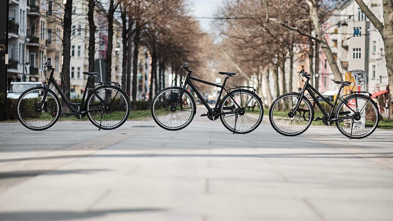 Massenger Berlin Fahrräder - Produktpräsentation aller Fahrradmodelle
